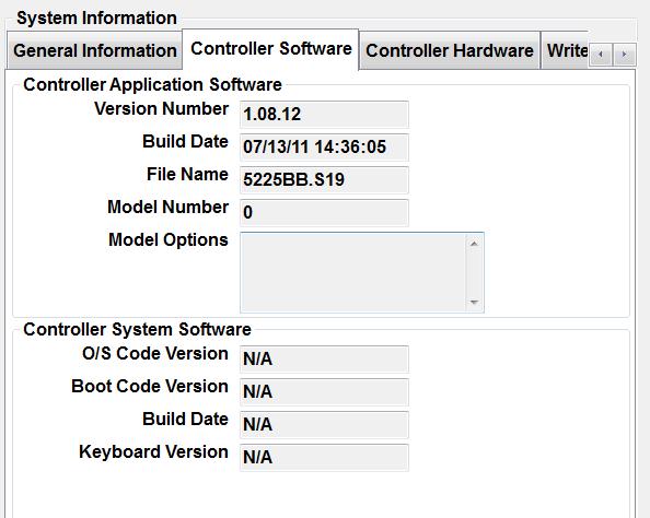 Pathfinder Controller Software Tab