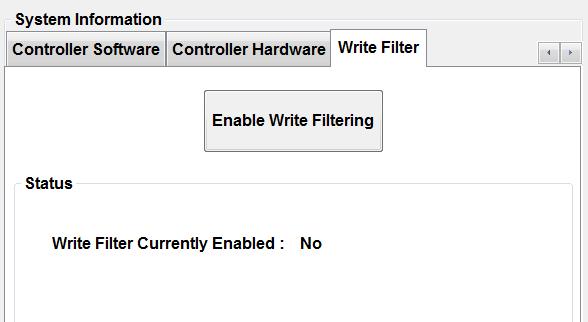 Pathfinder Write Filter Tab
