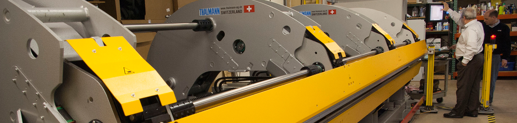AMS Controls - Integrated Roll Forming Machine Controls