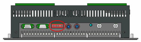 DIP Switches on Top of XL200