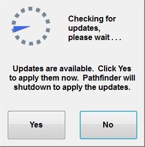 Updating Pathfinder Check Screen